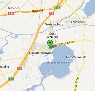 Kaart met locatie van Administratiekantoor Jonkman